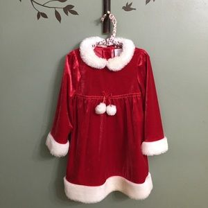 EUC Wonder Kids Santa Dress, 4T